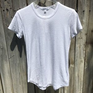 NWT James Perse Short Sleeve Tee White M (2)